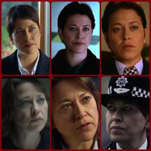 Nicola as policewoman